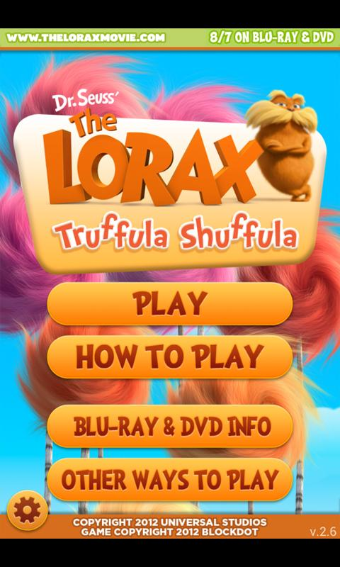 Truffula Shuffula - The Lorax - screenshot