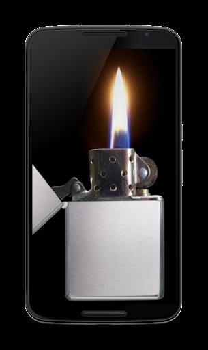 打火機的光
