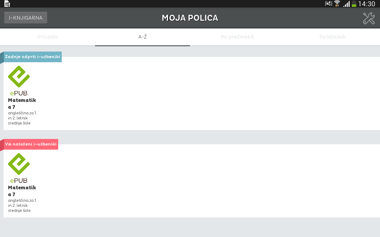 e-torba beta- screenshot