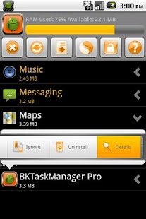 BKTaskManager - screenshot thumbnail