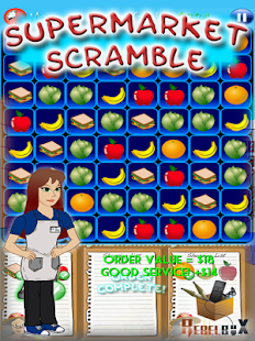 Supermarket  Scramble- screenshot thumbnail