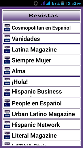 Top Magazines in Spain