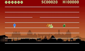 Screenshot of Jumping Droid