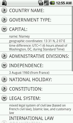 【免費教育App】Niger Facts-APP點子