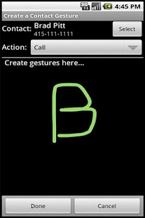 FingerMe with Gestures - screenshot thumbnail