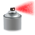 Fake spraycan icon