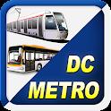 Washington DC Metro RAIL & BUS icon