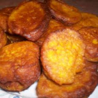 Pumpkin Fritters.