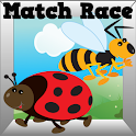 Bug Match Race Ad Free icon