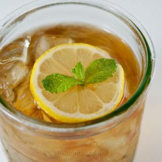 Honey Mint Iced Tea.