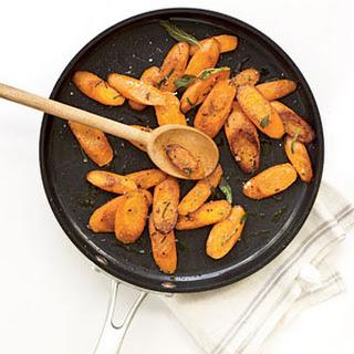 Sautéed Carrots with Sage.