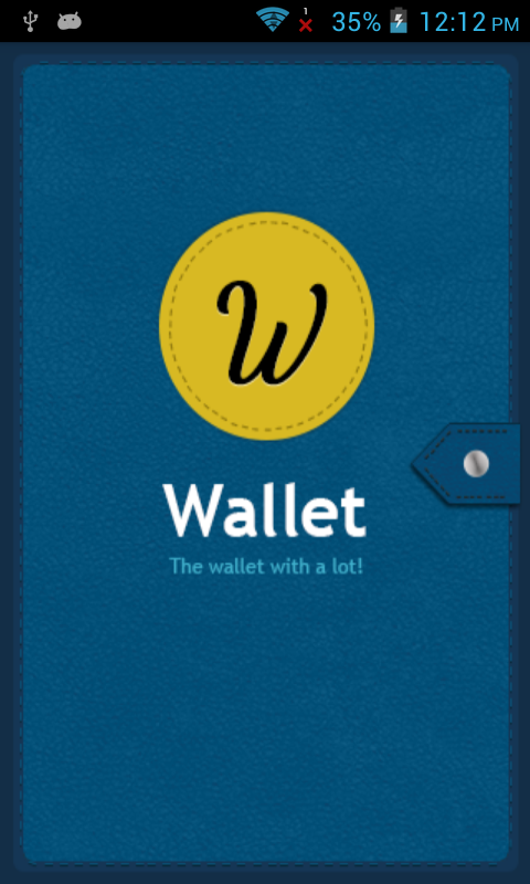 Wallet Trial- The Info Storage- screenshot