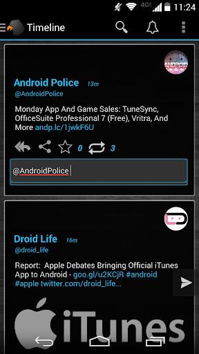 玩社交App|Reddit-style Black Holo Theme免費|APP試玩