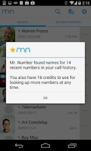 Mr. Number-Block calls, texts - screenshot thumbnail
