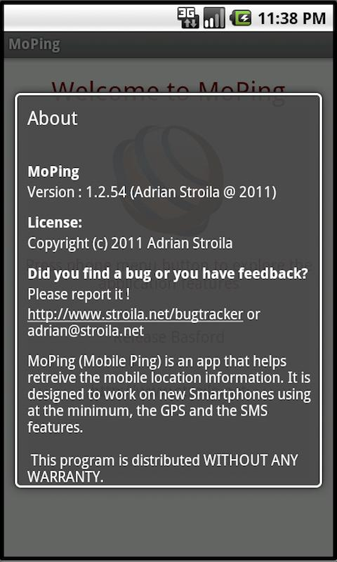 Mobile Ping- screenshot