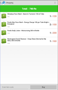 NFC Shopping screenshot 1