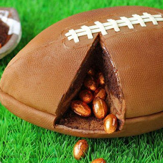 Game Day Football Cake