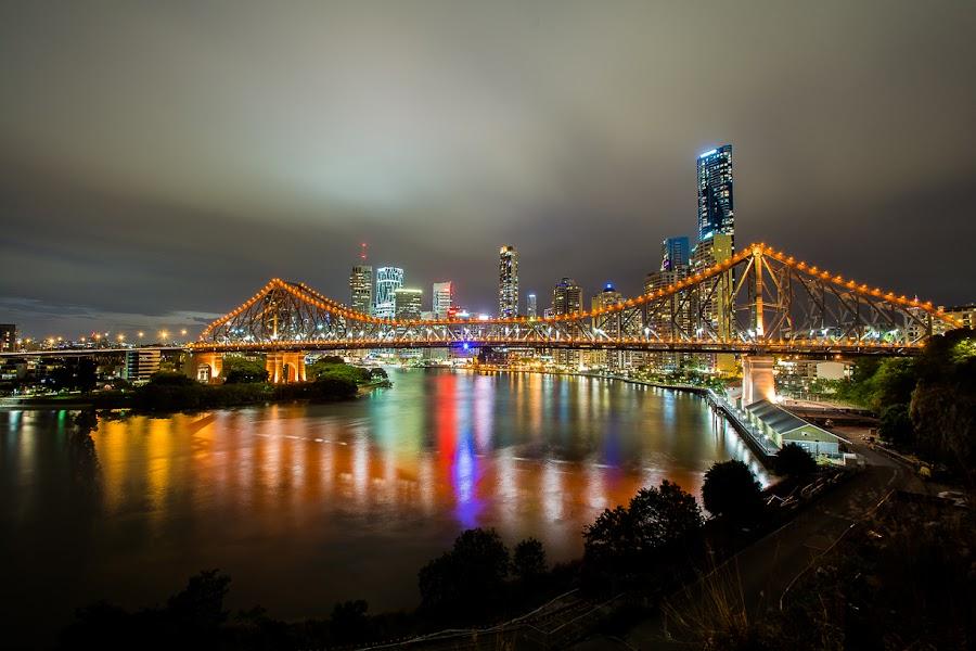 Story Bridge Brisbane by Troy Carroll - Buildings & Architecture Bridges & Suspended Structures