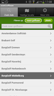 zoekGolfbaan - screenshot thumbnail
