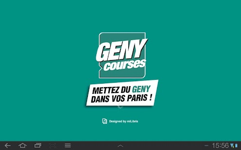GENY courses - Le journal - screenshot thumbnail
