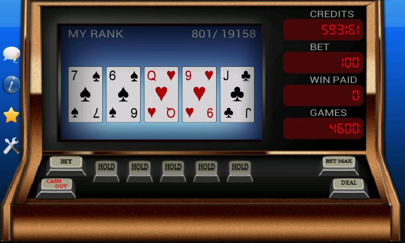 Video Poker - screenshot