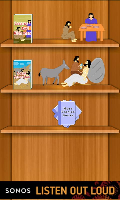StoryBooks : Parables of Jesus- screenshot