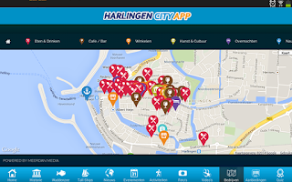 Screenshot of CityApp Harlingen