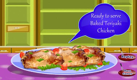 照燒焗雞烹飪