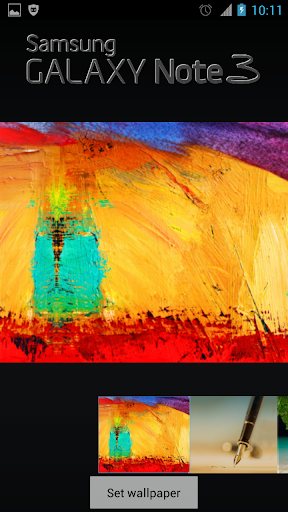 Galaxy Note 3 Wallpaper HD