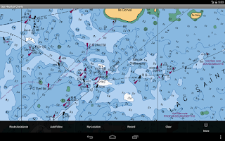 Screenshot of Nautical/Marine Charts-Belgium