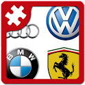 Cars: logo puzzle quiz icon
