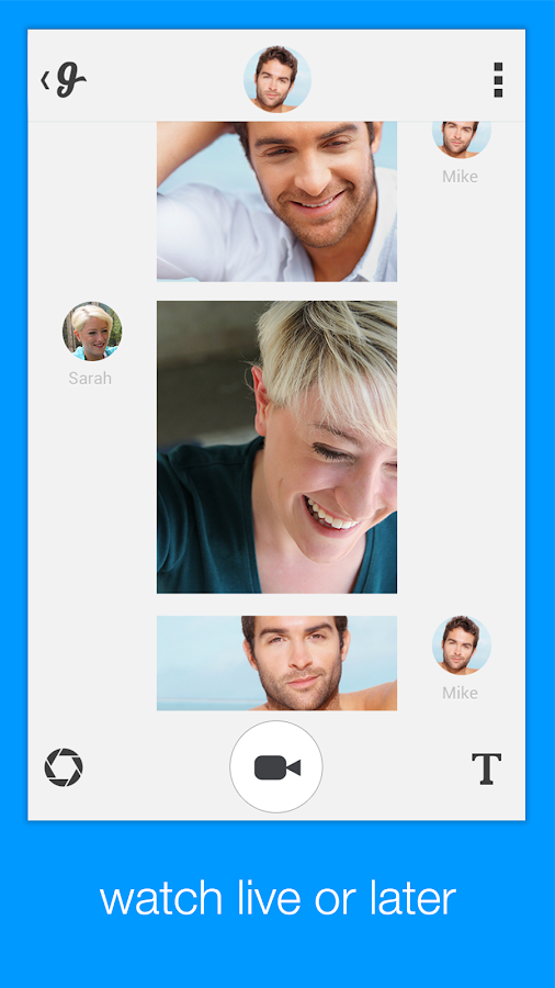 Glide - Video Texting - screenshot