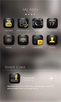 Screenshot of Yellow In The Black GO Theme