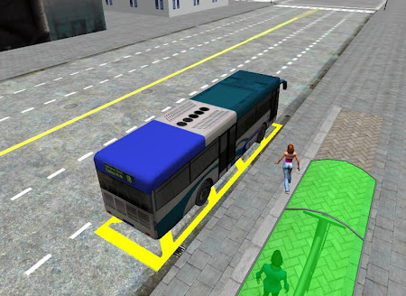 3D City driving - Bus Parking 1.2 screenshot 639150