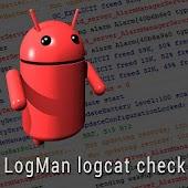 LogMan logcat check