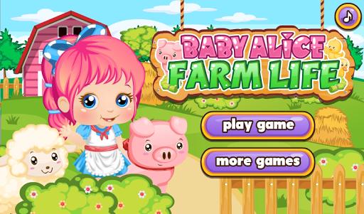 Farm Life with Baby Alice