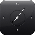 World time with alarm icon