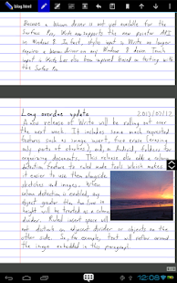 Write- screenshot thumbnail