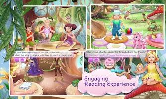 Screenshot of Tinkerbell Dress Up & Story