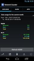 Screenshot of Network Counter