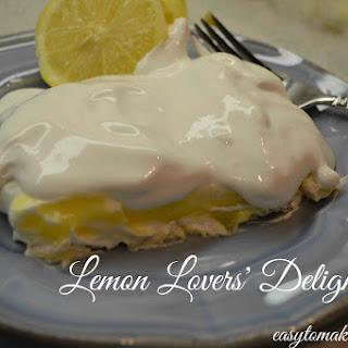 Lemon Lovers' Delight