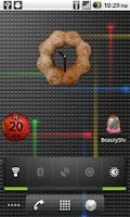 Screenshot of Donut Clock Widget Lite