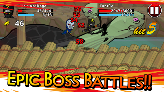 Ninjas - STOLEN SCROLLS - screenshot thumbnail