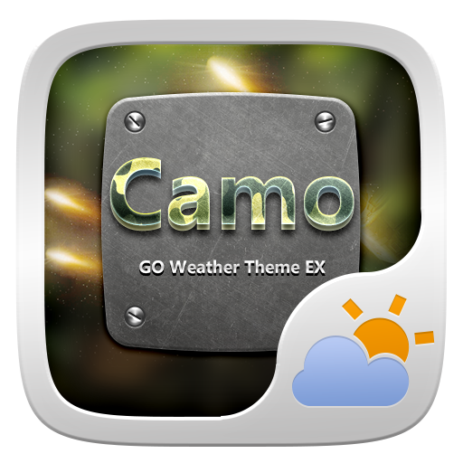 CAMO THEME GO WEATHER EX 天氣 App LOGO-APP開箱王