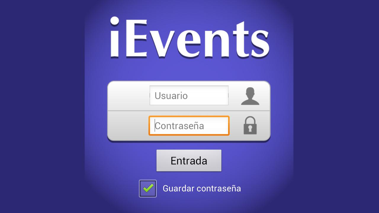 iEvents S.I.C- screenshot