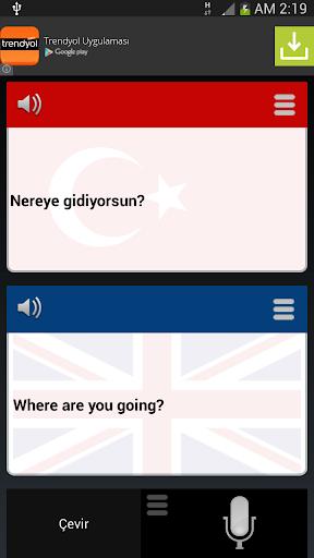 Türkçe İngilizce Çeviri Pro