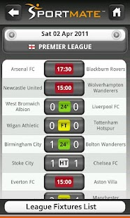 Football Scores Live (Soccer) - screenshot thumbnail