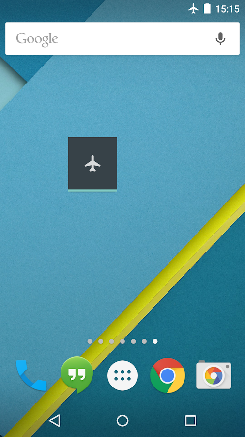 Toggle Airplane 5.0 (root)- screenshot