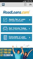 Screenshot of RoadLoans - Tools for Cars