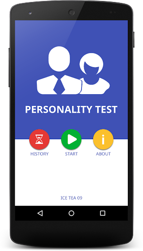 Personality Test 2015